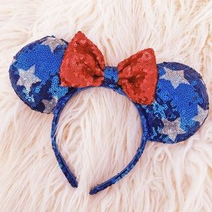 4th of July Minnie Mouse Ears